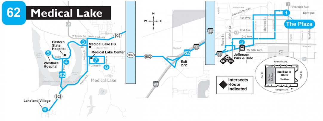 62 Medical Lake Spokane Transit Authority