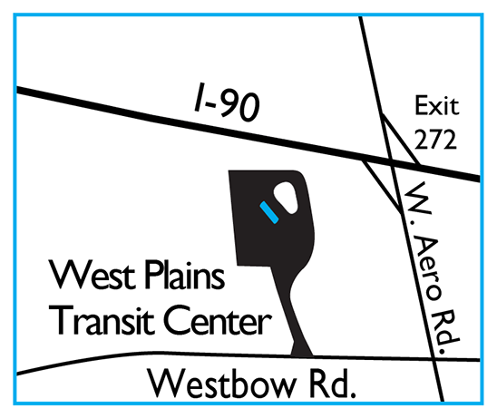 West Plains Transit Center Express Map