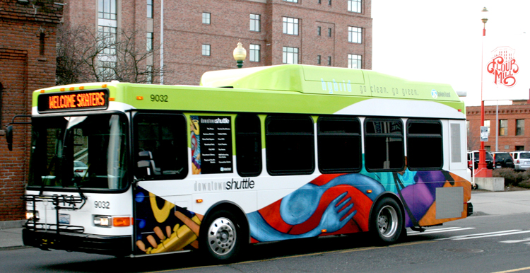 Downtown Hybrid Shuttle